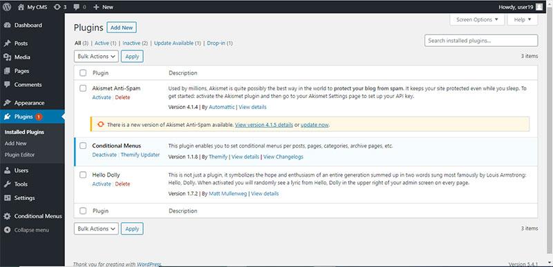 τα plugin του wordpress