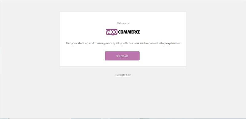 οδηγός εγκατάστασης WooCommerce